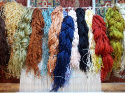 Turkish rugs dyeing techniques